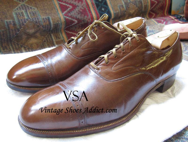Vintage Kangaroo Skin Shoes