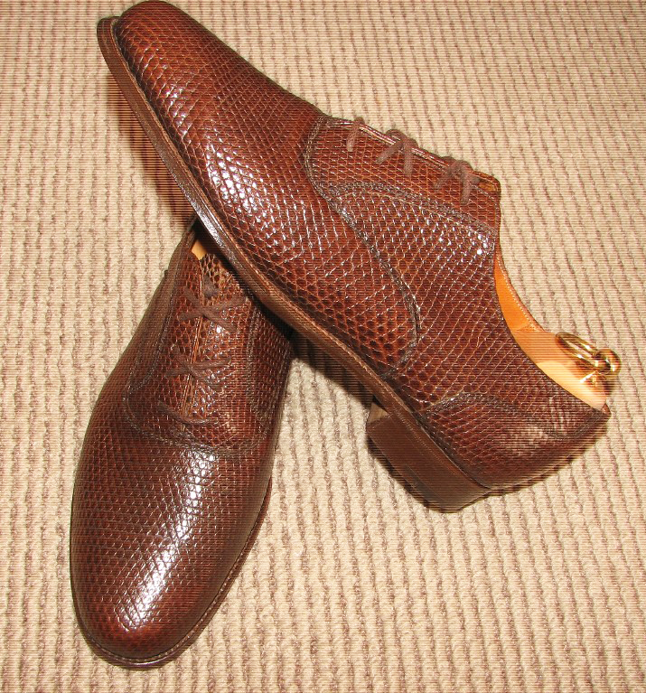 Crocodile Shoes Amp Alligator Mens Shoes From A Vintage
