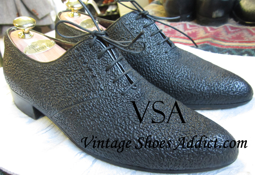 c1f054fb3d4 Exotic Leather Shoes  Sharkskin