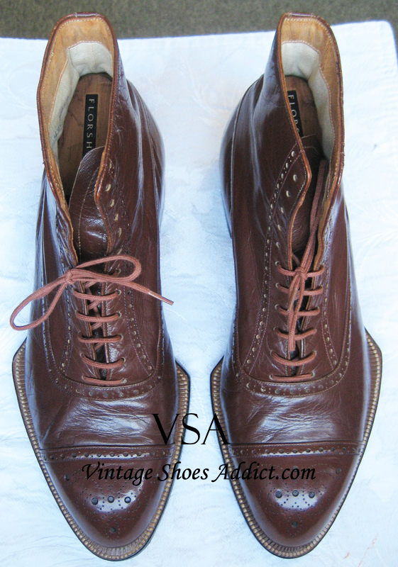 a9a576e87165 They still remain one of my all-time favorite pairs of shoes. 1920 s NOS  (unworn) Kangaroo Boots by Regal